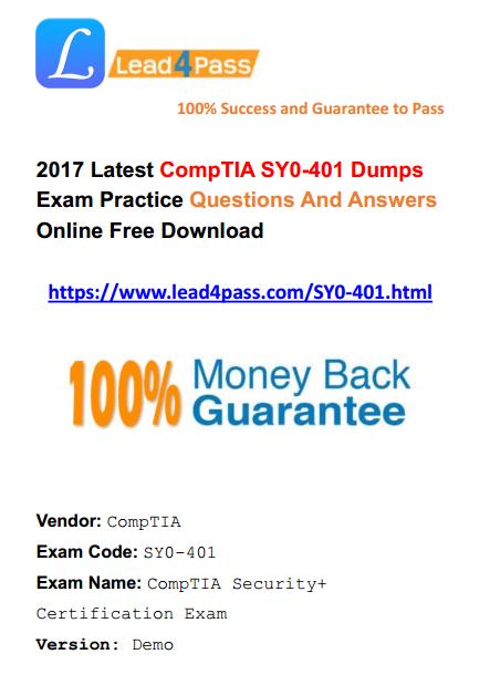 Comptia Security+ Study Guide Exam Sy0-301 Pdf