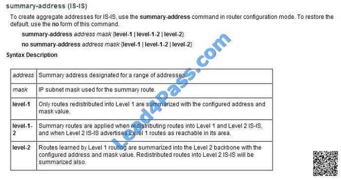 lead4pass 642-883 exam question q12