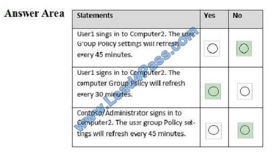lead4pass 70-742 exam question q9-4